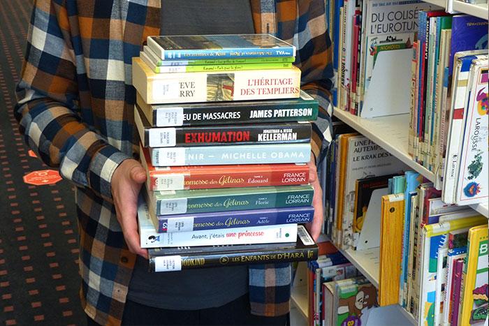 bibliothèque - livres divers